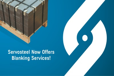 Servosteel now offers blanking services!
