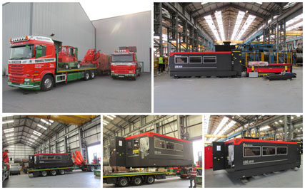 Servosteel Laser Cutting Machine Arrives