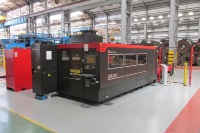 Servosteel Laser Cutting Machine Now Operational