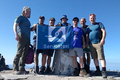 Servosteel reaches new heights