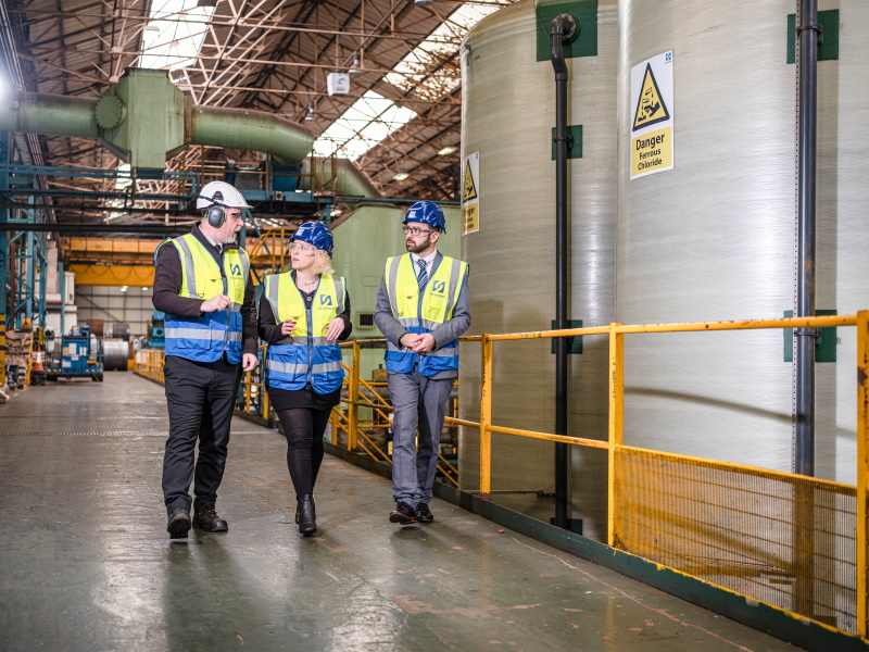 WMG Boosts Servosteel's productivity
