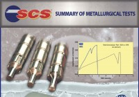 SCS Summary of Metallurgical Tests